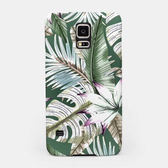 Leaves tropical summer Carcasa por Samsung miniature