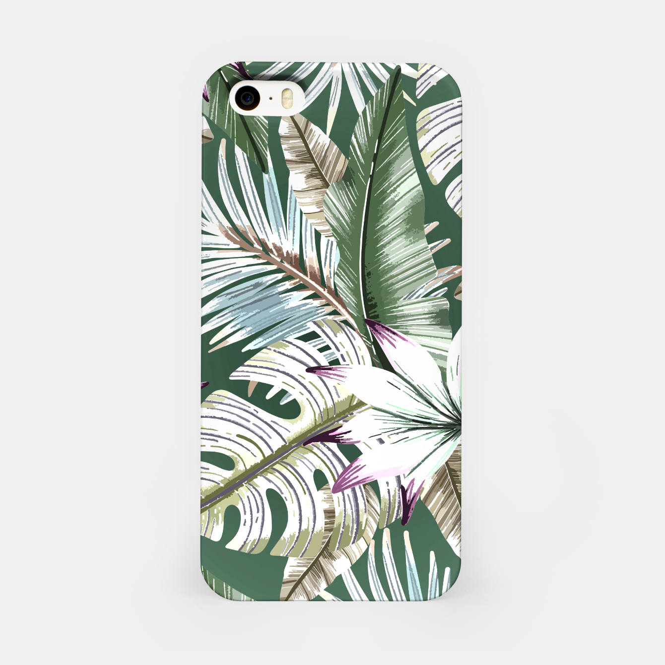Image of Leaves tropical summer Carcasa por Iphone - Live Heroes