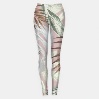 Tropical nice summer 8 Leggings Bild der Miniatur