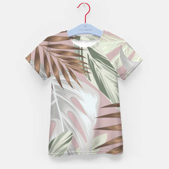 Thumbnail image of Tropical nice summer 8 Camiseta para niños, Live Heroes