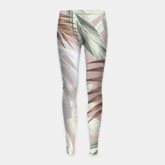 Tropical nice summer 8 Leggings para niña Bild der Miniatur