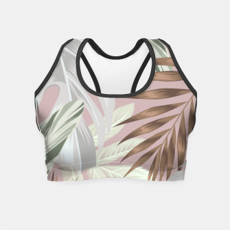 Miniatur Tropical nice summer 8 Crop Top, Live Heroes