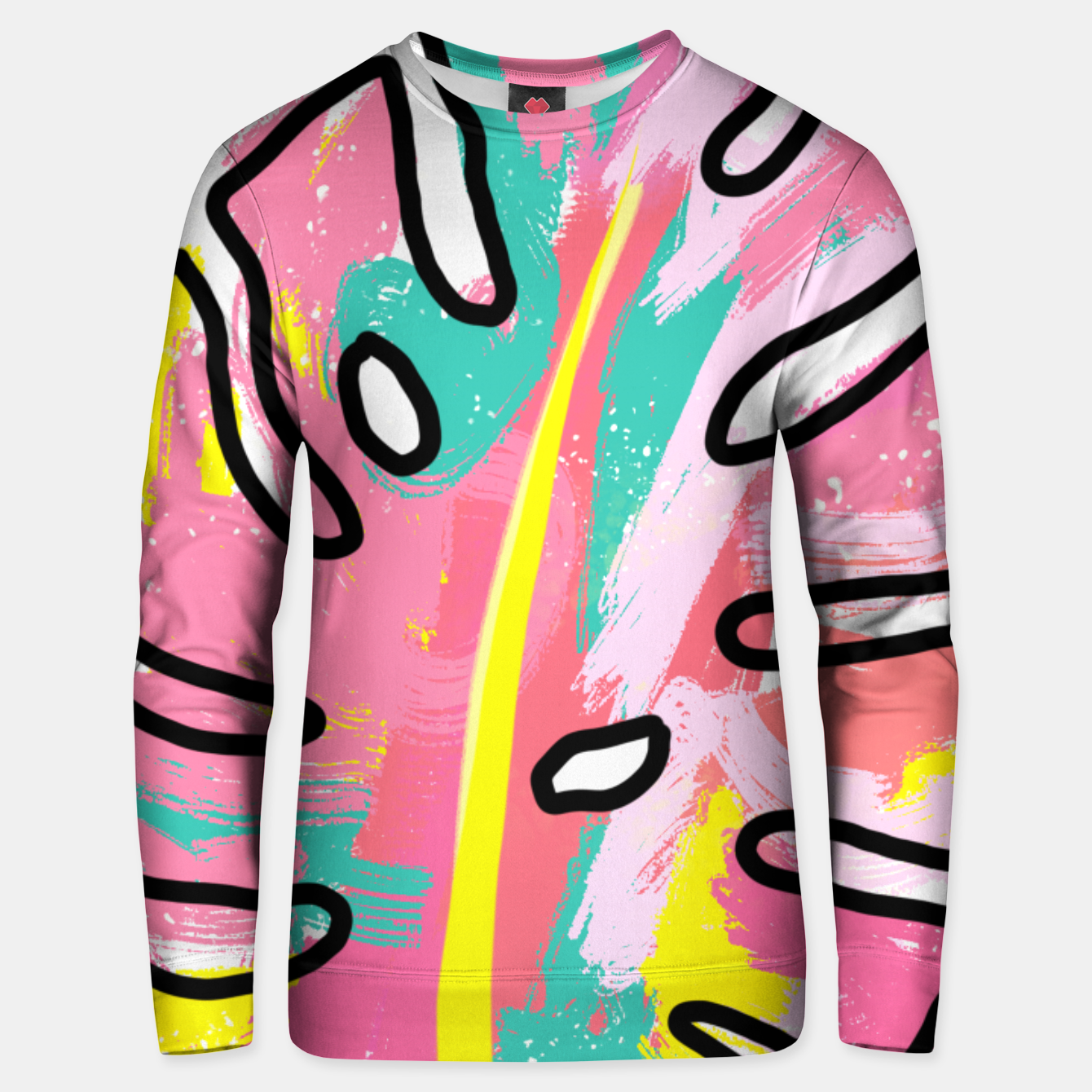 Image of Tropical Unisex sweater - Live Heroes