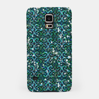 Thumbnail image of Blue Ice Sparkle Swirls Samsung Case, Live Heroes