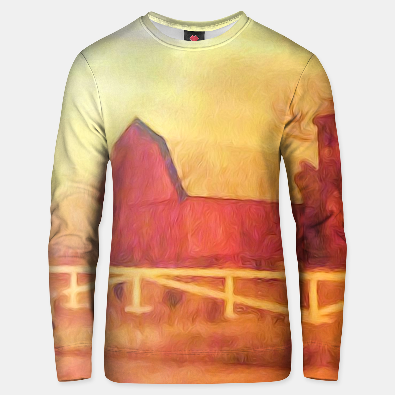 Image of Barn Painting Unisex sweater - Live Heroes