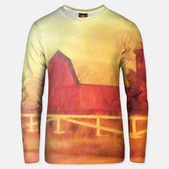 Thumbnail image of Barn Painting Unisex sweater, Live Heroes