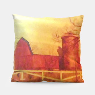 Thumbnail image of Barn Painting Pillow, Live Heroes
