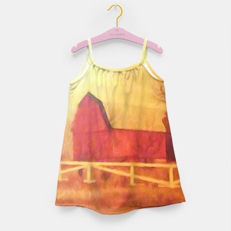 Thumbnail image of Barn Painting Girl's dress, Live Heroes