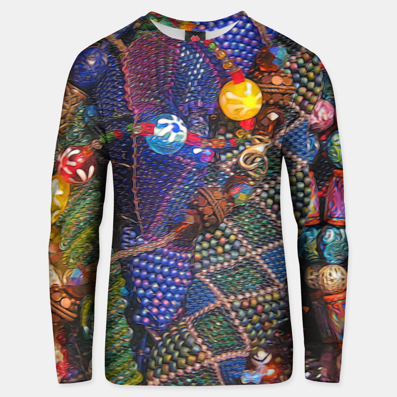 Image of Beads Unisex sweater - Live Heroes