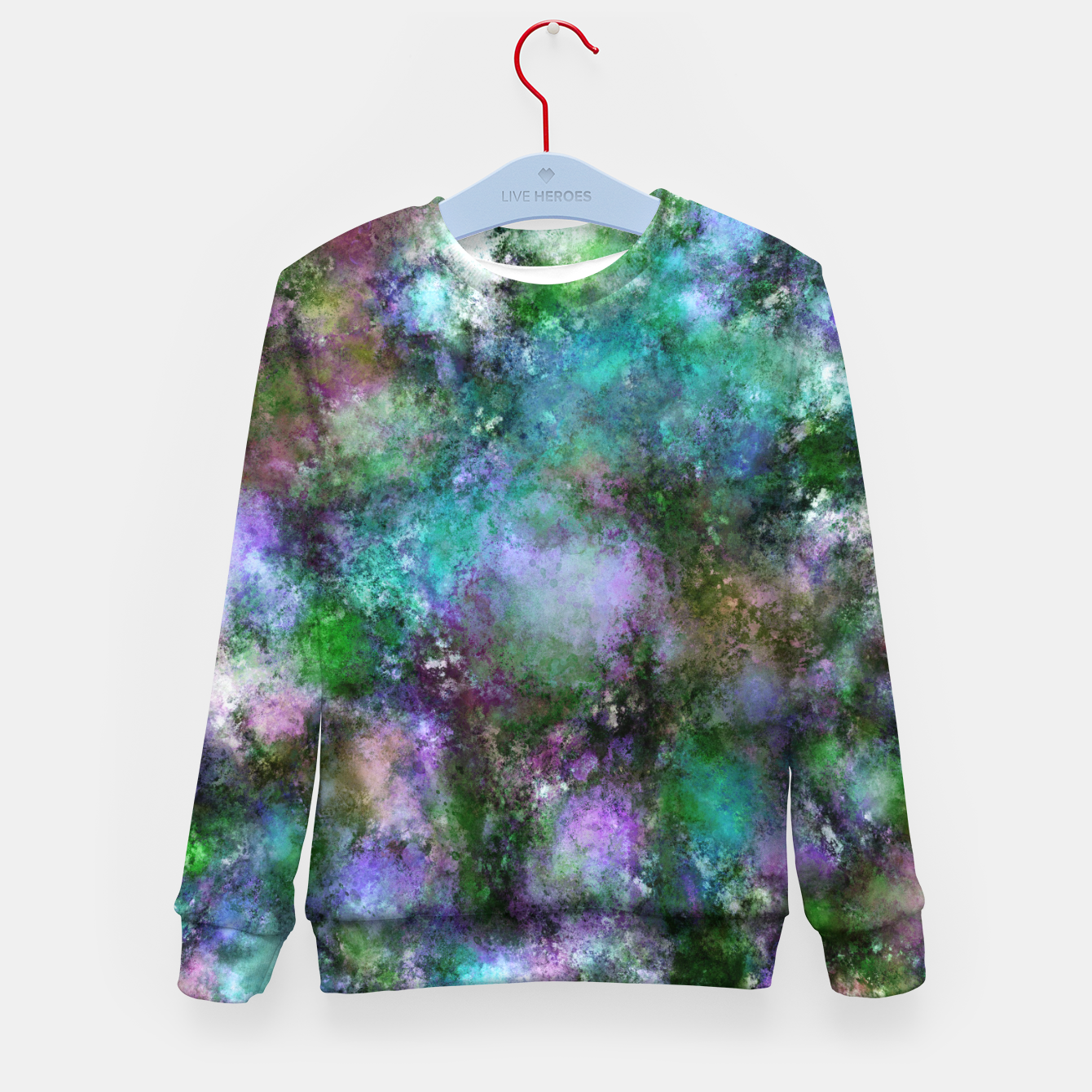 Image of A fluid situation Kid's sweater - Live Heroes
