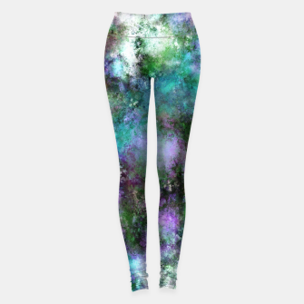 Thumbnail image of A fluid situation Leggings, Live Heroes