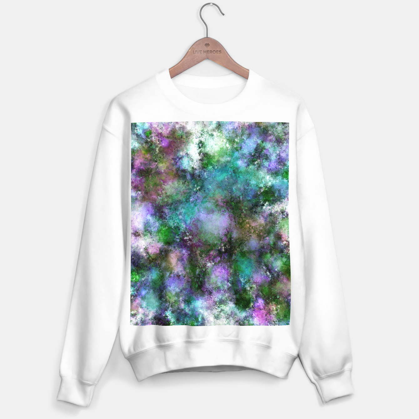 Image of A fluid situation Sweater regular - Live Heroes
