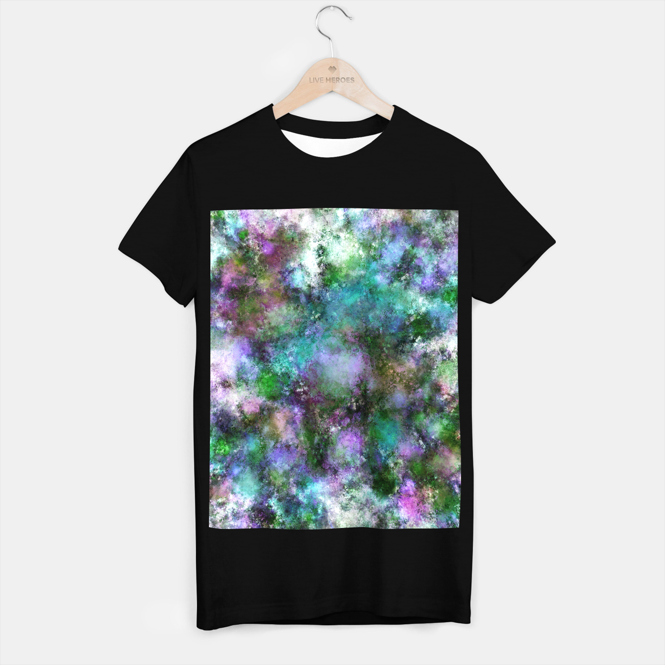 Image of A fluid situation T-shirt regular - Live Heroes