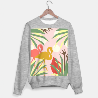 Thumbnail image of Flamingo jungle pink Sweater regular, Live Heroes