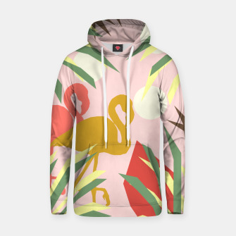 Thumbnail image of Flamingo jungle pink Hoodie, Live Heroes