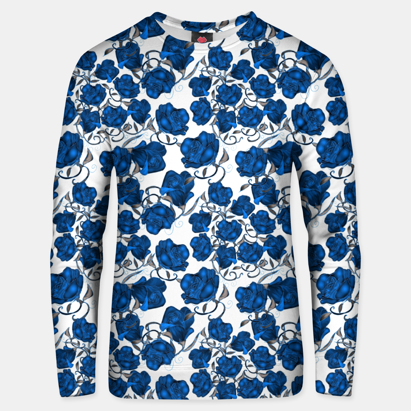 Image of Blue Roses Unisex sweater - Live Heroes
