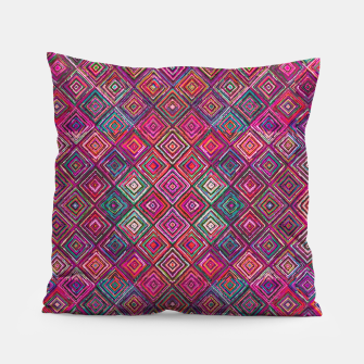 Thumbnail image of Pink Traditional Bohemian Oriental Moroccan Design Pillow, Live Heroes