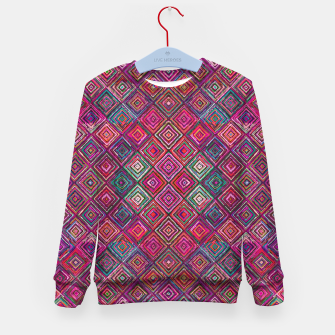 Thumbnail image of Pink Traditional Bohemian Oriental Moroccan Design Kid's sweater, Live Heroes