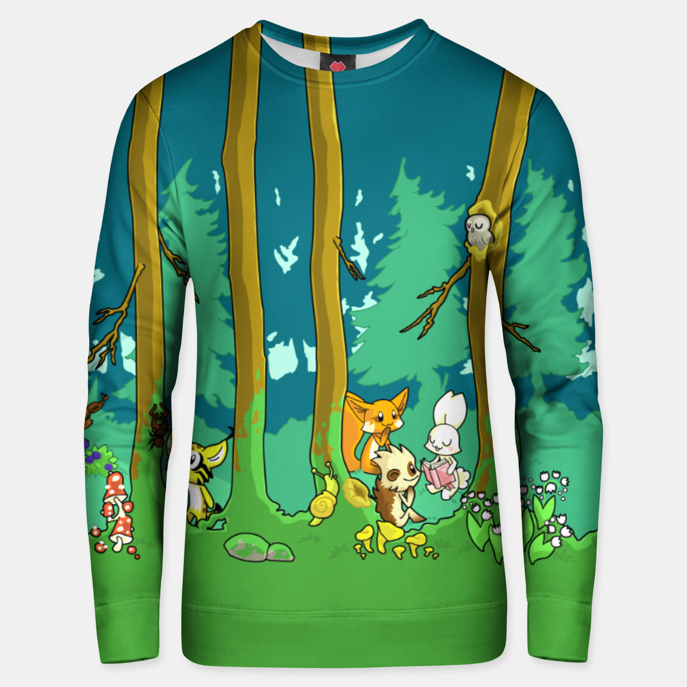 Image of Deep Inside the Forest Unisex sweater - Live Heroes