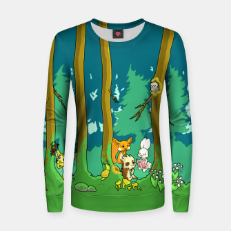 Deep Inside the Forest Women sweater miniature