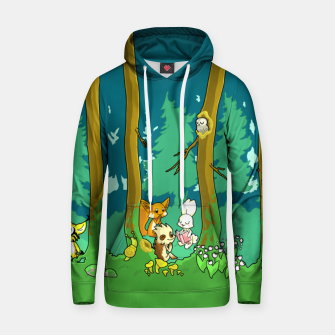 Deep Inside the Forest Hoodie miniature