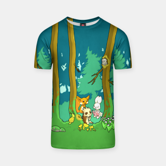 Deep Inside the Forest T-shirt miniature