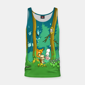 Deep Inside the Forest Tank Top miniature