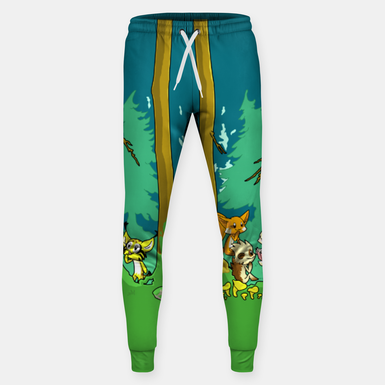 Image de Deep Inside the Forest Sweatpants - Live Heroes