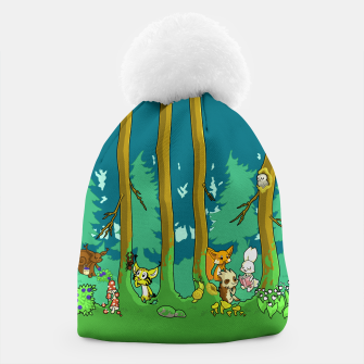 Deep Inside the Forest Beanie miniature