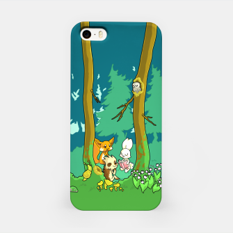 Deep Inside the Forest iPhone Case miniature