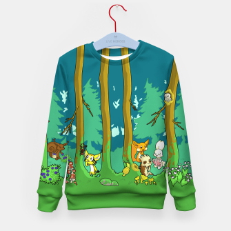 Deep Inside the Forest Kid's sweater miniature