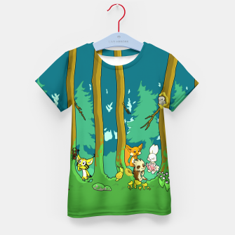 Deep Inside the Forest Kid's t-shirt miniature