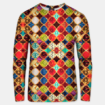 Miniatur HQ Traditional Heritage Islamic Moroccan Tiles Styles Design Unisex sweater, Live Heroes