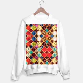 Thumbnail image of HQ Traditional Heritage Islamic Moroccan Tiles Styles Design Sweater regular, Live Heroes
