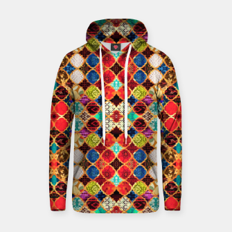 HQ Traditional Heritage Islamic Moroccan Tiles Styles Design Hoodie thumbnail image