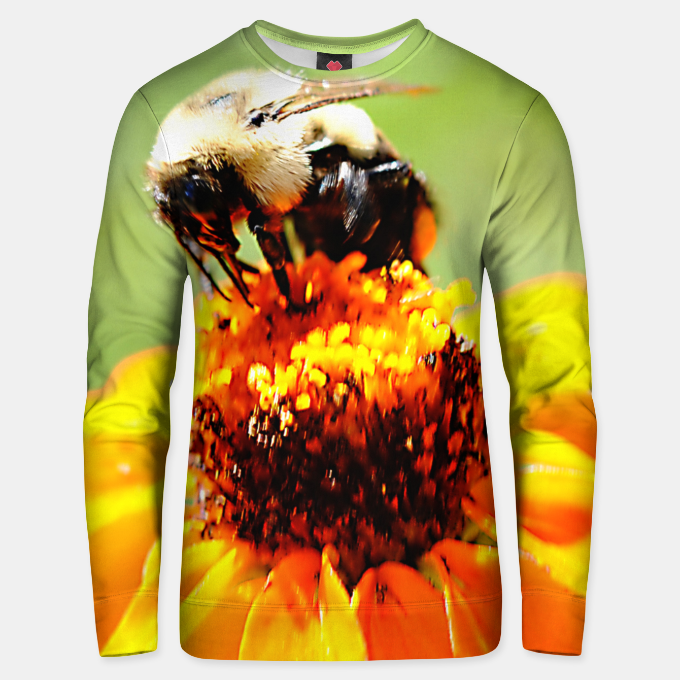 Image of Bee On A Flower Unisex sweater - Live Heroes