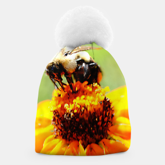 Bee On A Flower Beanie thumbnail image