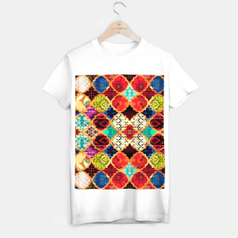 Miniatur HQ Traditional Heritage Islamic Moroccan Tiles Styles Design T-shirt regular, Live Heroes