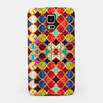 Miniatur HQ Traditional Heritage Islamic Moroccan Tiles Styles Design Samsung Case, Live Heroes