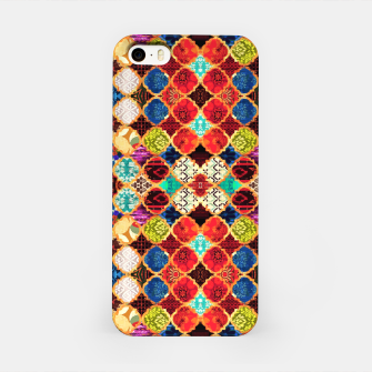 Miniatur HQ Traditional Heritage Islamic Moroccan Tiles Styles Design iPhone Case, Live Heroes