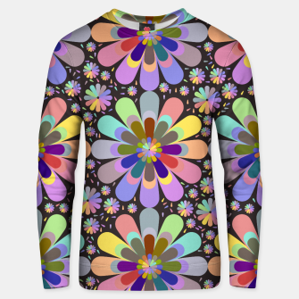 Thumbnail image of zappwaits flower Unisex sweater, Live Heroes