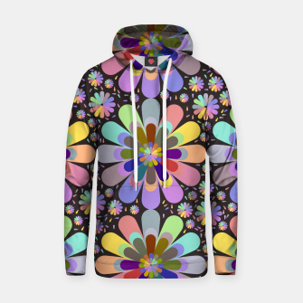 Thumbnail image of zappwaits flower Hoodie, Live Heroes