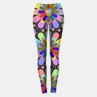 Thumbnail image of zappwaits flower Leggings, Live Heroes