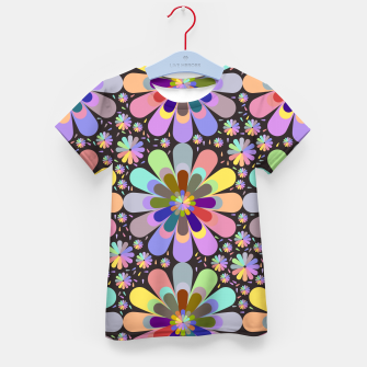 Thumbnail image of zappwaits flower Kid's t-shirt, Live Heroes