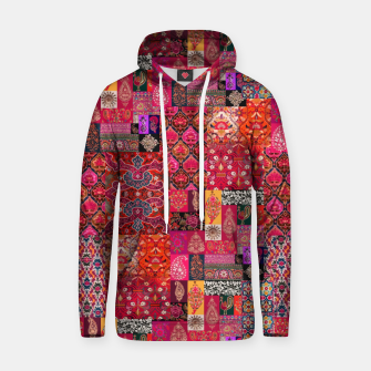 Thumbnail image of Bohemian Vintage Oriental Traditional Moroccan Collage Artwork Hoodie, Live Heroes