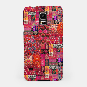 Miniatur Bohemian Vintage Oriental Traditional Moroccan Collage Artwork Samsung Case, Live Heroes