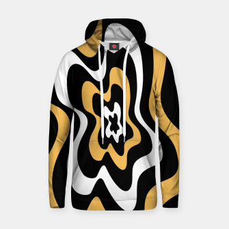 Miniatur Abstract pattern - bronze, black and white. Hoodie, Live Heroes