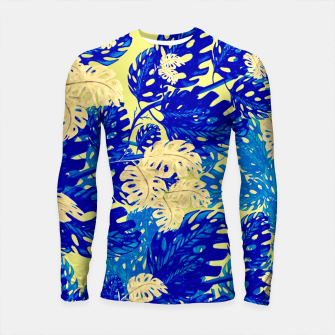 Golden Greens Longsleeve rashguard miniature