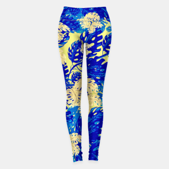 Golden Greens Leggings miniature