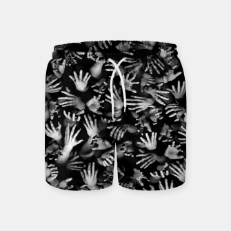 Thumbnail image of Appetite Of The Living Dead Swim Shorts, Live Heroes